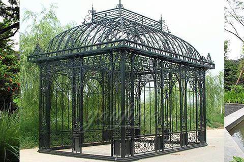 Garden Wrought Iron Pavilion Metal Gazebo