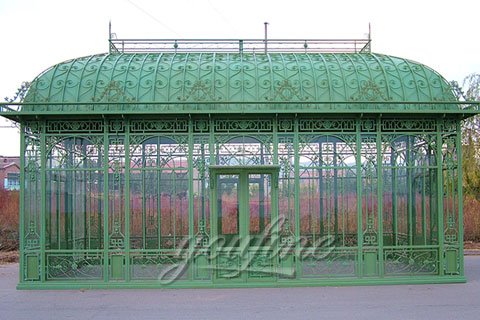 Outdoor Garden Low Price Iron Green House